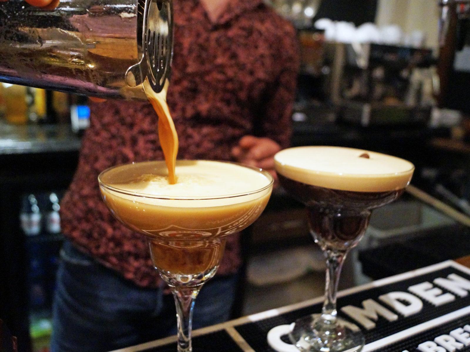 We love a creamy Espresso Martini